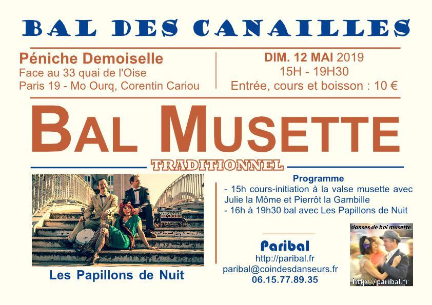 Bal des Canailles mai 2019