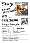 stage septembre 2016